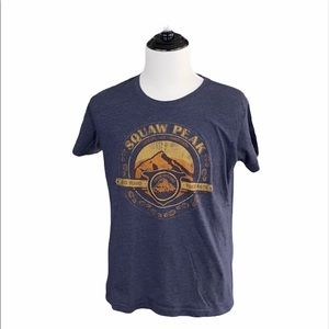 Squaw Peak Mountain Short Sleeve Graphic Tee